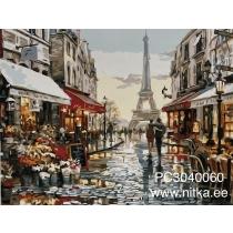 """Maalimine numbrite järgi """"Pariis"""", 30x40"""