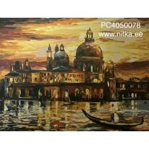 """Maalimine numbrite järgi """"Veneetsia"""", 40x50"""