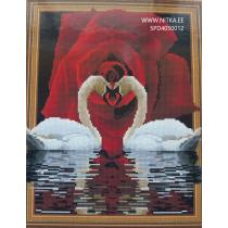 Teemant mosaiik-Armastuse sümbol, 40x50