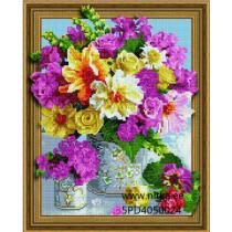 Teemanmosaiik-lilled, 40x50
