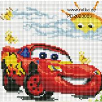 Teemanmosaiik-Auto, 20x20