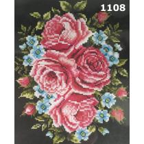 """Kanvaa pildiga """"Roosad"""", 24x30 cm"""