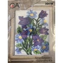 """Tikkimiskomplekt """"Kelluke lill"""", 14x18cm"""