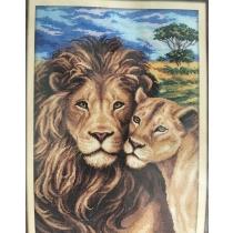 Tikandi komplekt Lõvid, 25,5x37,5